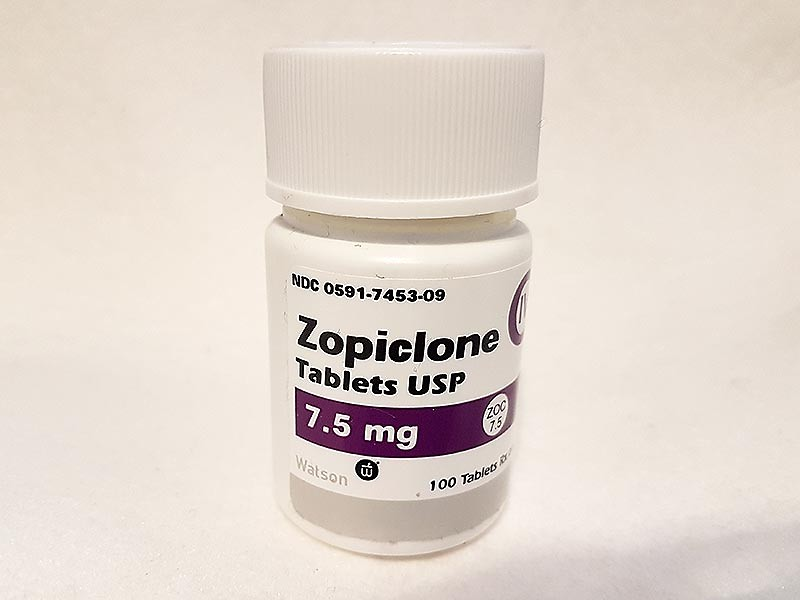 ** ALMOST GONE**ZOPICLONE 7.5MG TUB (x 100 Tablets) **WHILE STOCKS LAST**