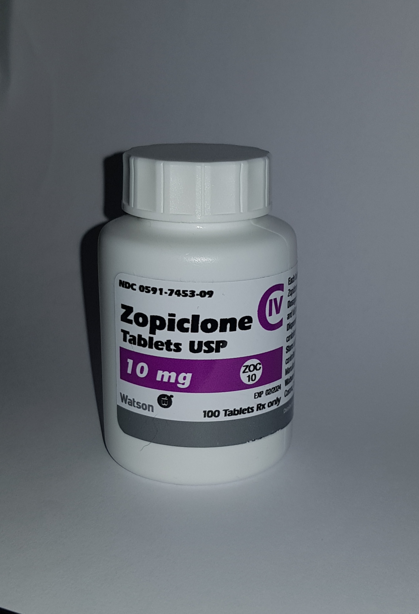 ZOPICLONE 10MG Tub Top Seller ( X 100 Tablets)
